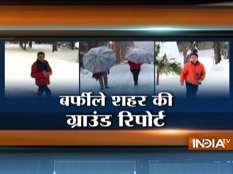 Shimla Struggles To Cope With Record Snowfall