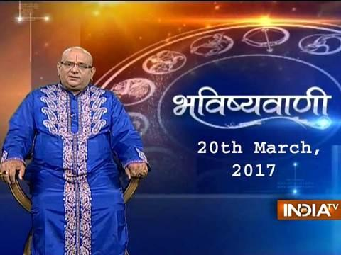 Bhavishyavani   20th March, 2017