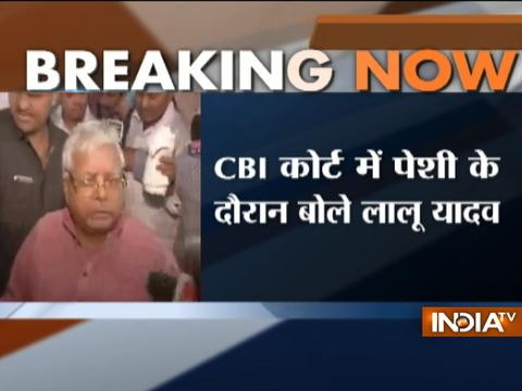 Lalu Yadav gets angry over question of split in mega alliance in Bihar