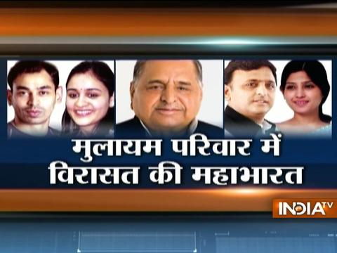 Difficult time for Mulayam Singh: Disputes errupting not in SP party but in