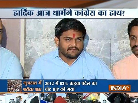 We are not openly extending support to Congress, but we will fight against BJP: Hardik