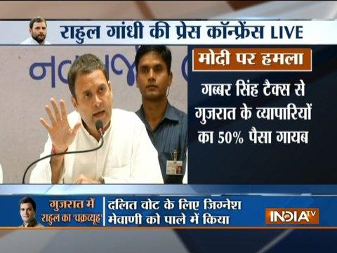 Ahmedabad: Confident that Congress will win Gujarat, says Rahul Gandhi in press conference