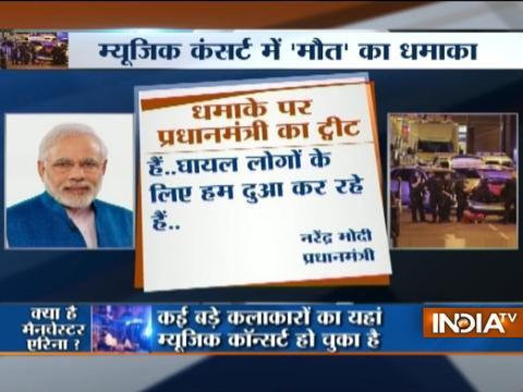 Prime Minister Modi condemns suicide attack at concert in British arena