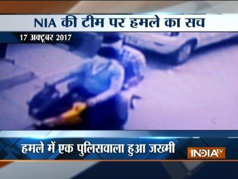 NIA team attacked in Ghaziabad, cop injured