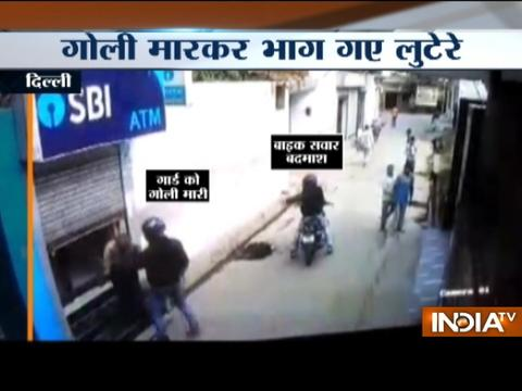 Guard foils robbery attempt by two bikers at SBI ATM in Delhi