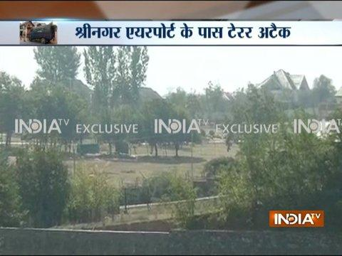 Fidayeen attack on BSF camp in Srinagar