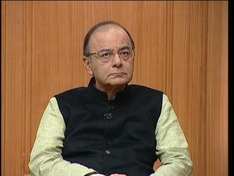 Finance Minister Arun Jaitley in Aap Ki Adalat - 2016