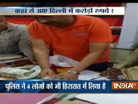 New currency worth Rs 25.30 lakh seized ahead of MCD polls in Delhi