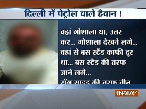 Goons attempt to immolate man alive in Delhi's Sultanpur