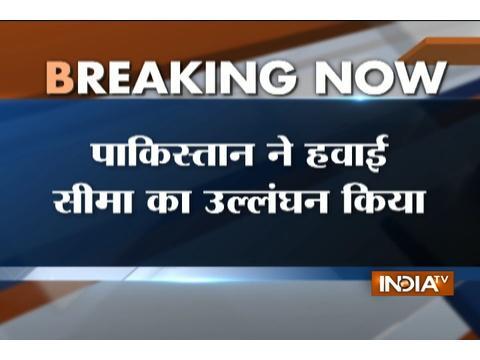 Airspace violation: Pakistani aircraft violates Indian airspace near Arnia