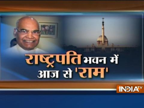 Ram Nath Kovind to visit Rajghat ahead of swearing-in ceremony