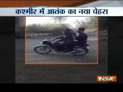 Terrorists spotted roaming on bike with guns in part of Jammu and Kashmir