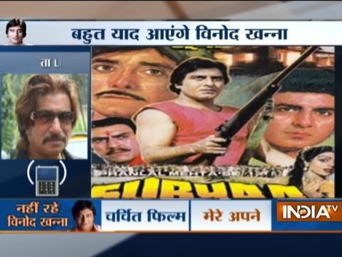 Shakti Kapoor's reaction on veteran actor Vinod Khanna death