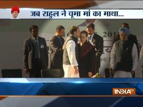 Sonia Gandhi's emotional message to party as Rahul Gandhi becomes Congress chief