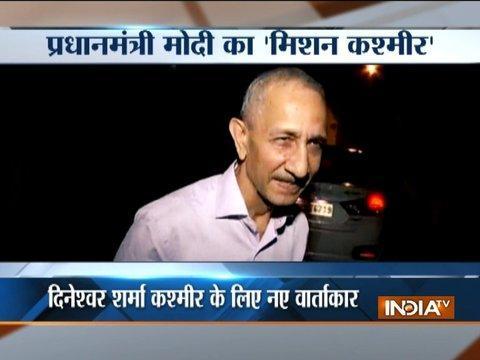 Centre to begin dialogue on Kashmir, former IB chief Dineshwar Sharma to be interlocutor