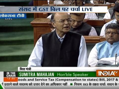 Finance Minister Arun Jaitley has moved four GST bills for consideration in Lok Sabha