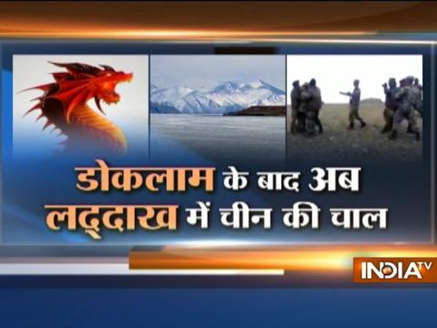 Scuffle between Indian and Chinese troops in Ladakh