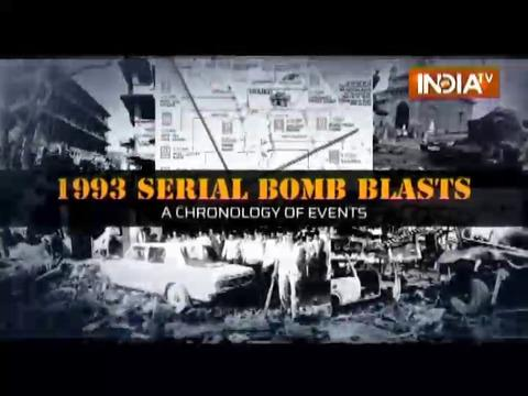 1993 Serial Bomb Blast: A Chronology of Events