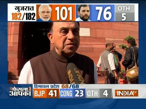 Assembly Poll Result: Subramanian Swamy's reaction on BJP's victory