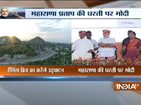 PM Narendra Modi to inaugurate National Highway projects in Udaipur today