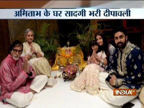 Glimpse of Amitabh Bachchan's Diwali celebrations