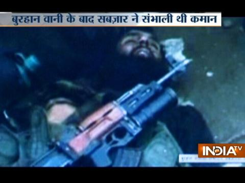 Hizbul terrorist Sabzar Ahmad killed in encounter in Kashmir