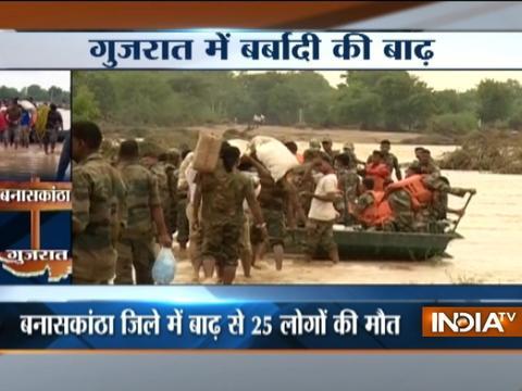 Rain fury continues, over 90 dead in Gujarat