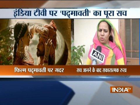 India TV impact: Rajputs welcom Rajat Sharma's views on Padmavati after screening