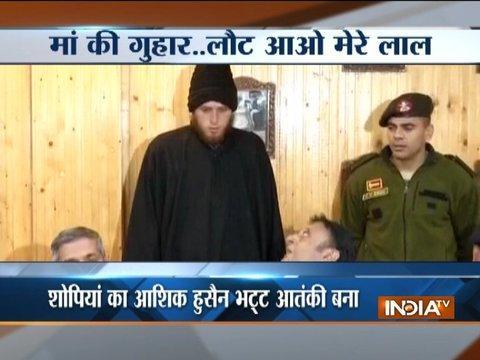 J&K: Another Kashmiri youth gives up militancy, returns home