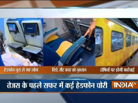 Passengers vandalise Tejas Express on its first Mumbai-Goa trip