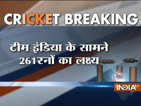 Ind vs NZ, 4th ODI: India restrict New Zealand to 260 for 7