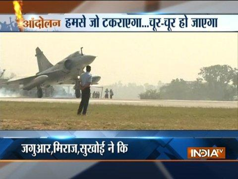 Andolan: 17 fighter planes touch down on Lucknow-Agra Expressway in IAF's special drill
