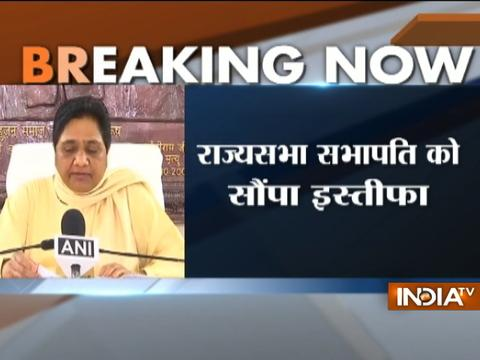 Mayawati quits Rajya Sabha after being disallowed to speak on anti-Dalit violence