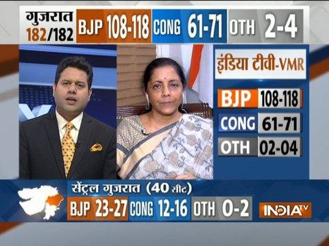 We always expected people of Gujarat to support us: Nirmala Sitharaman