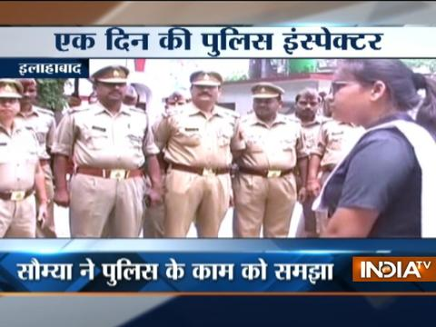 UP: Essay competition winner takes charge as SHO for one day in Allahabad
