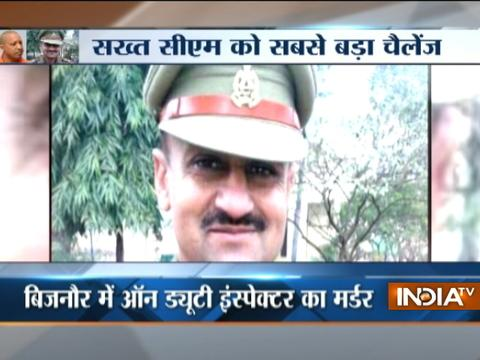 Criminals slit throat of Sub-inspector officer in Uttar Pradesh's Bijnor