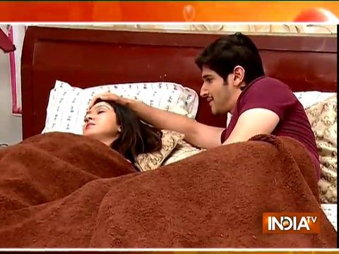 Sanjana and Sameer of Sasural Simar Ka have some romantic moments