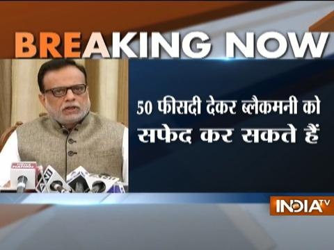 Amount deposited in banks does not mean it's white, unless tax is paid says Hasmukh Adhia