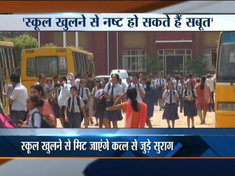 Pradyuman's father opposes the reopening of school
