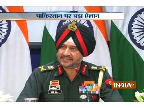 Indian Army conducted surgical ops last night, DGMO tells press