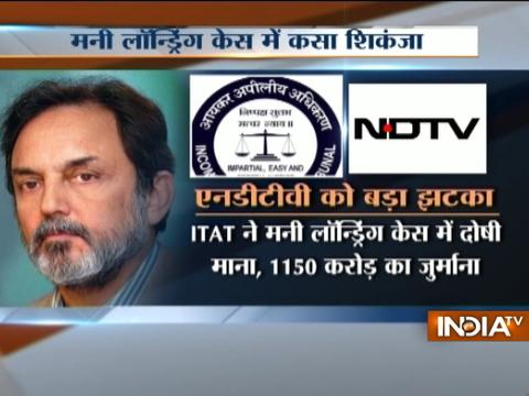 Income Tax Tribunal Indicts NDTV, Prannoy Roy For Money Laundering Rs 642 crore