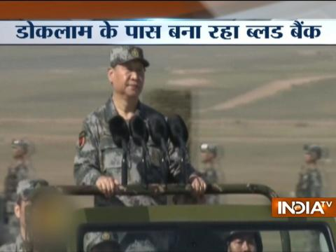 Doklam standoff: China signals war against India,shifts blood bank to Tibbat