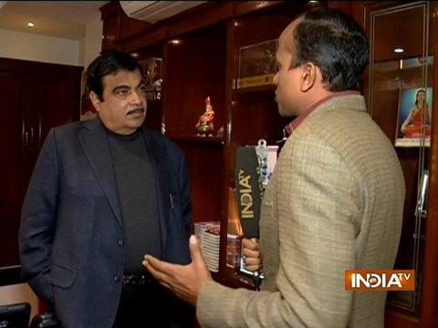 Today is a historic day as PM travelled in a sea-plane, says Nitin Gadkari
