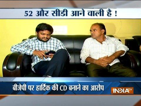 Hardik Patel group says 52 more sex CD on the way