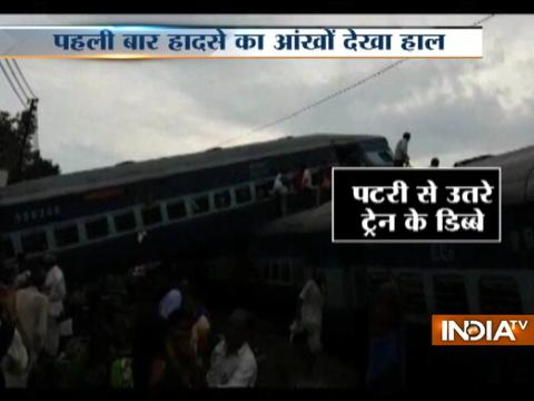 Six coaches of Kalinga Utkal Express derails in Muzaffarnagar, 6 dead, 100 injured