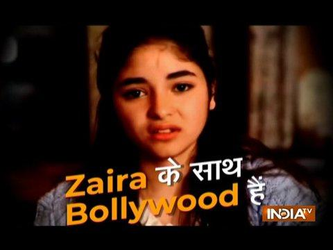 Bollywood stands in support of Zaira Wasim in molestation case