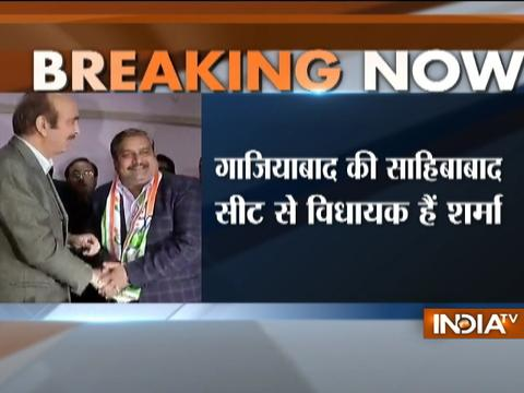 BSP MLA Amarpal Sharma joins Congress