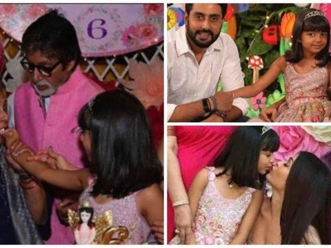 Bollywood biggies and their kids attend Aaradhya Bachchan's birthday party
