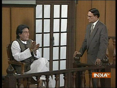 Exclusive Interview of Vinod Khanna with Rajat Sharma in Aap Ki Adalat