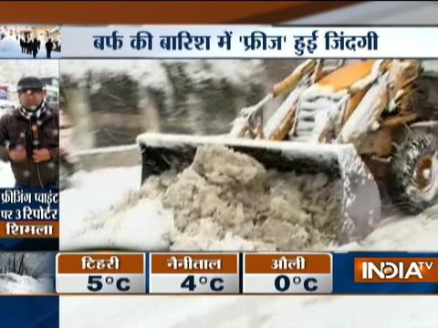 Watch: India TV reporters reach freezing points to narrate tales of cold-hit